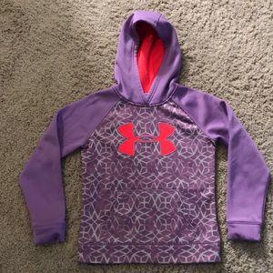 Girls YSM Under Armour hooded sweatshirt